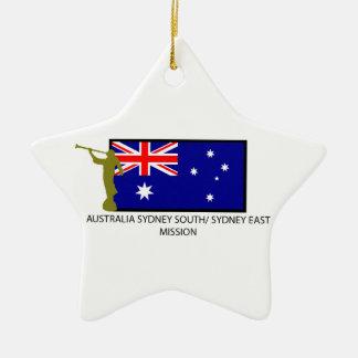 オーストラリアシドニー南シドニーの東の代表団LDS セラミックオーナメント