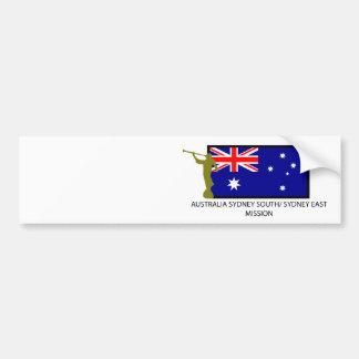 オーストラリアシドニー南シドニーの東の代表団LDS バンパーステッカー