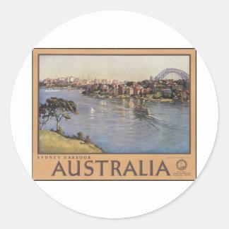 オーストラリアシドニー港 ラウンドシール