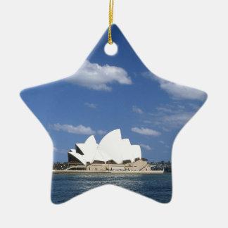 オーストラリアシドニー・オペラハウス セラミックオーナメント