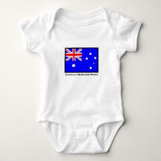 オーストラリアメルボルンの代表団のコピー ベビーボディスーツ