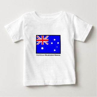 オーストラリアメルボルンの代表団のコピー ベビーTシャツ