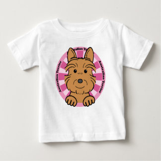 オーストラリアンテリア ベビーTシャツ
