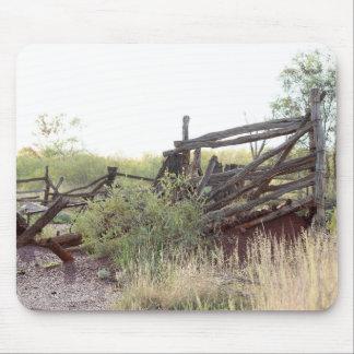 オーストラリア人の奥地に牛ヤード マウスパッド