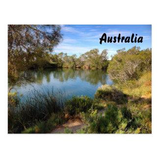 オーストラリア人の奥地に郵便はがき ポストカード