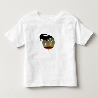 オーストラリア人のCrocアイコン幼児のTシャツ トドラーTシャツ