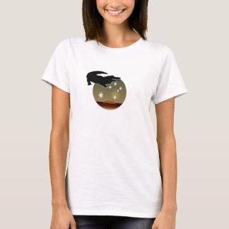 オーストラリア人のCrocアイコンTシャツ Tシャツ