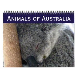 オーストラリア動物2018年 カレンダー