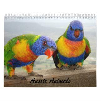 オーストラリア動物 カレンダー