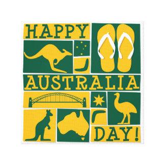 オーストラリア日 キャンバスプリント