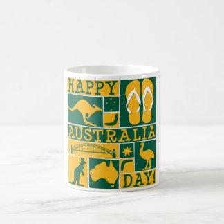 オーストラリア日 コーヒーマグカップ