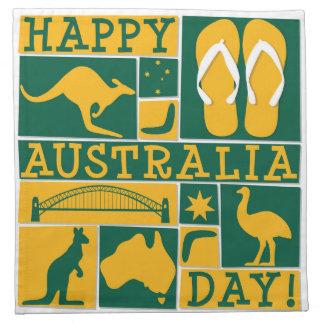 オーストラリア日 ナプキンクロス
