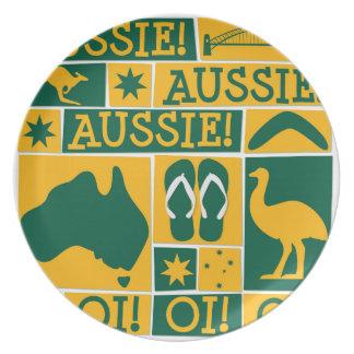 オーストラリア日 プレート