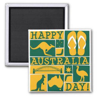 オーストラリア日 マグネット