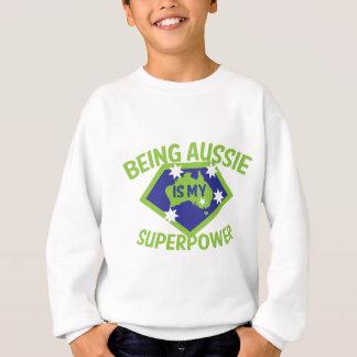 オーストラリア私の超出力ですであることは スウェットシャツ