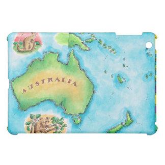 オーストラリア2の地図 iPad MINIケース