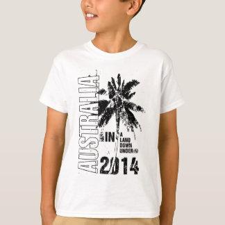 オーストラリア2014の子供のTシャツ Tシャツ