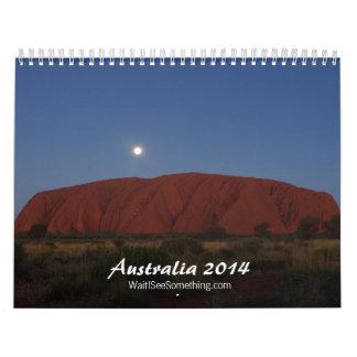 オーストラリア2014年 カレンダー