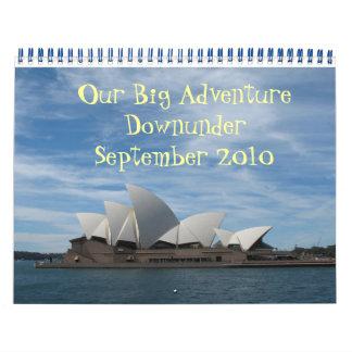 オーストラリア カレンダー