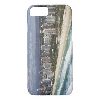 オーストラリア、クイーンズランド、ゴールド・コーストの主要なビーチ- iPhone 8/7ケース