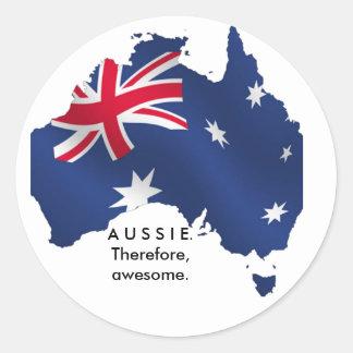 オーストラリア。 従って、驚くばかり ラウンドシール