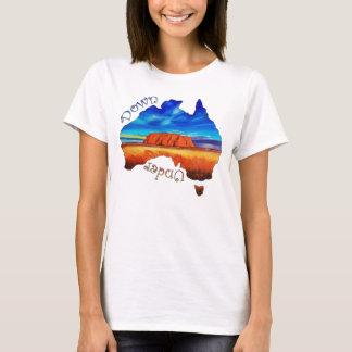 オーストラリア、Ayersの石、オーストラリア人、Uluru Tシャツ