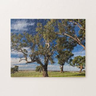 オーストラリア、Barossa Valleyは、気持が良い取付けます ジグソーパズル