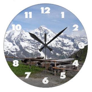 オーストリアのアルプスのカスタムな柱時計 ラージ壁時計