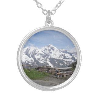 オーストリアのアルプスのカスタムのネックレス シルバープレートネックレス
