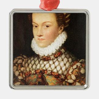 オーストリアのエリザベス、フランスの女王 メタルオーナメント