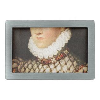 オーストリアのエリザベス、フランスの女王 長方形ベルトバックル