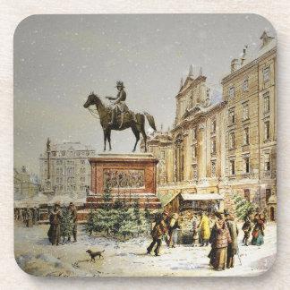 オーストリアのクリスマスの市場 コースター