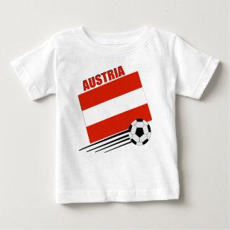オーストリアのサッカーチーム ベビーTシャツ