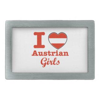 オーストリアのデザイン 長方形ベルトバックル
