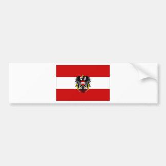 オーストリアの州の旗 バンパーステッカー