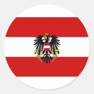 オーストリアの州の旗 ラウンドシール