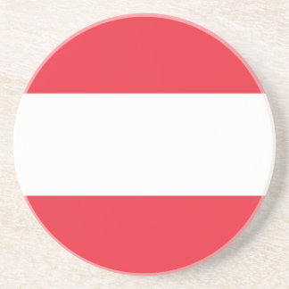 オーストリアの旗が付いているコースター コースター