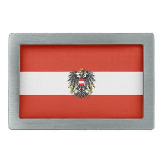 オーストリアの旗のベルトの留め金 長方形ベルトバックル