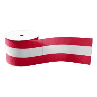 オーストリアの旗 グログランリボン