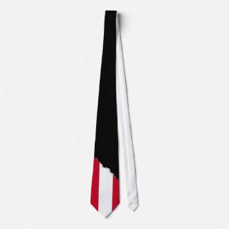 オーストリアの旗 ネクタイ
