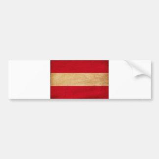 オーストリアの旗 バンパーステッカー