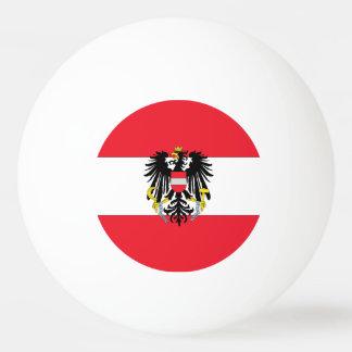 オーストリアの旗 卓球ボール