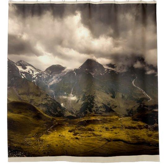 オーストリアの景色 シャワーカーテン