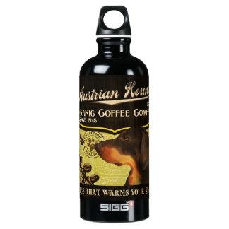 オーストリアの猟犬のブランド- Organic Coffee Company ウォーターボトル