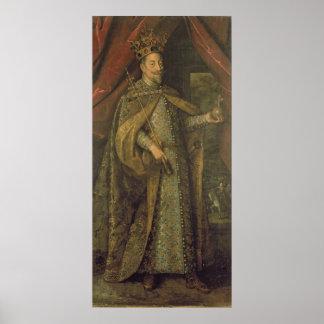 オーストリアの皇帝マティアス ポスター