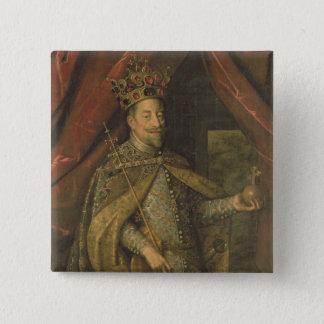 オーストリアの皇帝マティアス 缶バッジ