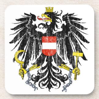 オーストリアの紋章付き外衣 コースター