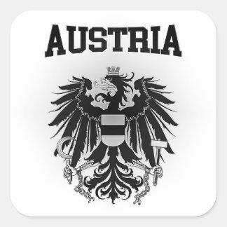 オーストリアの紋章付き外衣 スクエアシール