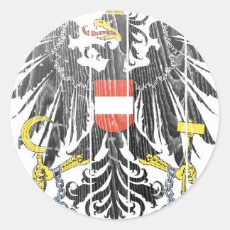 オーストリアの紋章付き外衣 ラウンドシール