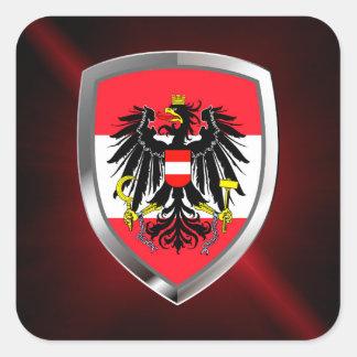 オーストリアの金属紋章 スクエアシール